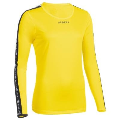 Žlutý dámský házenkářský dres Atorka - velikost XS