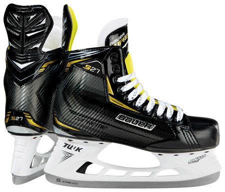 Hokejové brusle - youth Supreme S27, Bauer - velikost 29,5 EU a šířka D