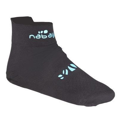 Černé unisex ponožky Nabaiji