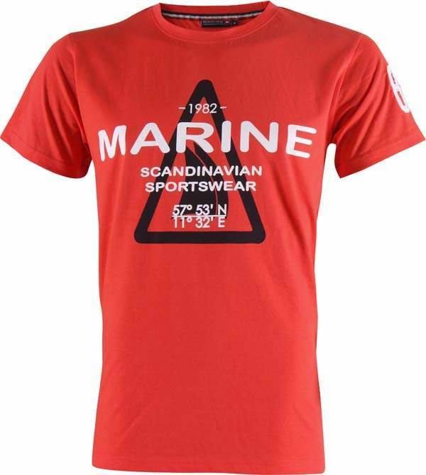 Tričko - MARINE-pánské triko s náp.