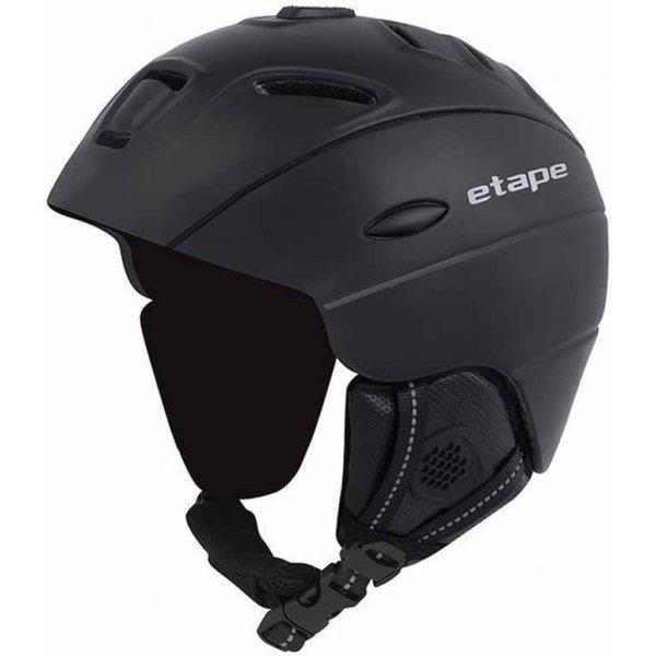 Černá lyžařská helma Etape
