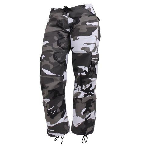 Kalhoty - Kalhoty dámské PARATROOPER CITY METRO CAMO