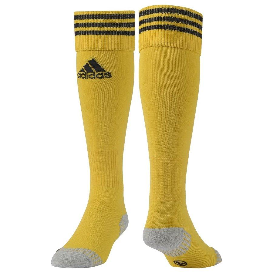 Žluté fotbalové štulpny Adisock 12, Adidas - velikost 37-39 EU