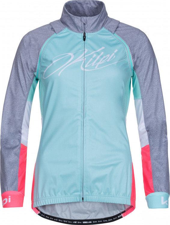Tyrkysová dámská cyklistická bunda Kilpi