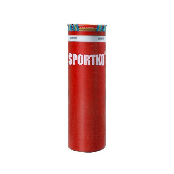 Červený boxovací pytel SportKO - 20 kg