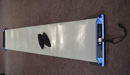Trenažér bruslení - Trenažér bruslení Slideboard s návleky