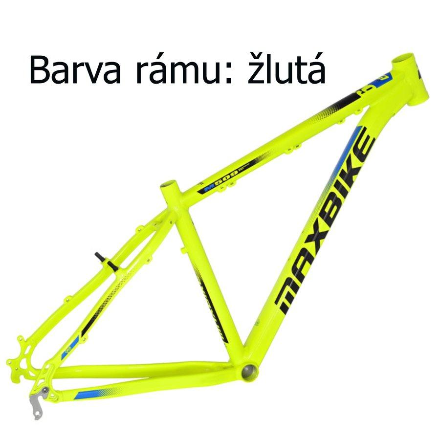 Žluté horské pánské kolo Maxbike