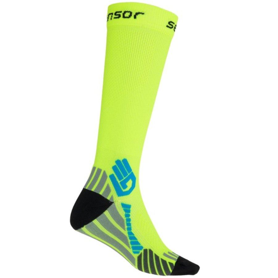 Žluté pánské ponožky Sensor - velikost 43-45,5 EU