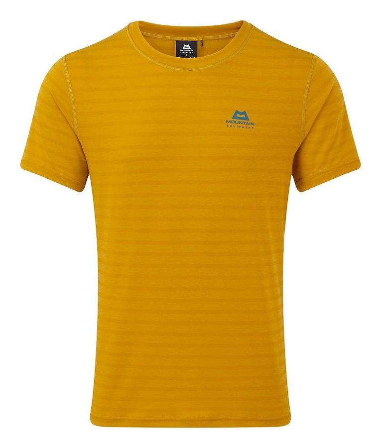 Žluté pánské turistické tričko s krátkým rukávem Mountain Equipment