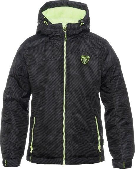 Černá zimní chlapecká bunda s kapucí Sam 73 - velikost 140