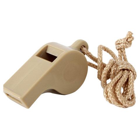 Píšťalka pro rozhodčího - Píšťalka plastová US POLICE TAN