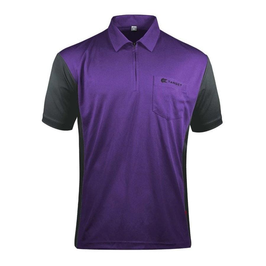 Černo-fialový šipkařský dres Target Darts
