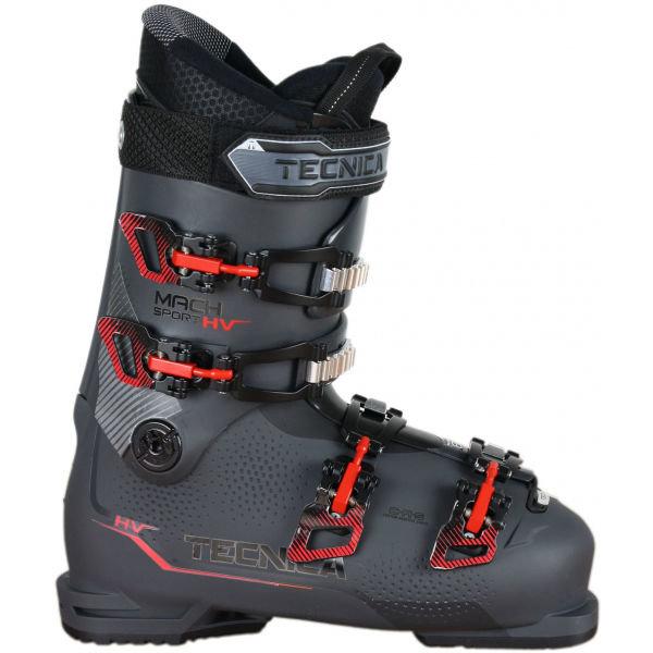 Šedé pánské lyžařské boty Tecnica
