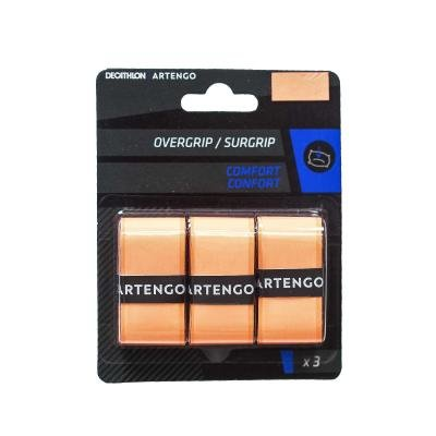 Oranžová tenisová omotávka Comfort, Artengo - 3 ks
