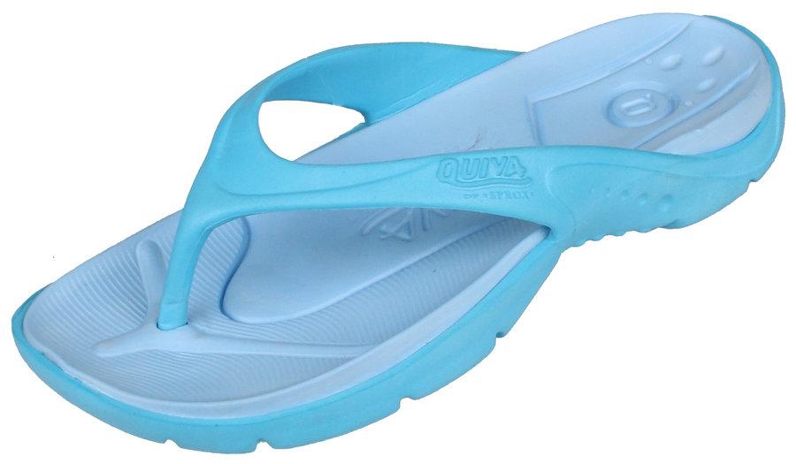 Modré žabky Quiva - velikost 35,5 EU