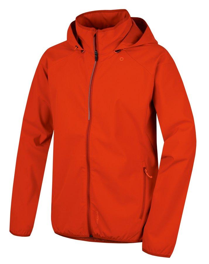 Červená softshellová pánská bunda Husky - velikost M