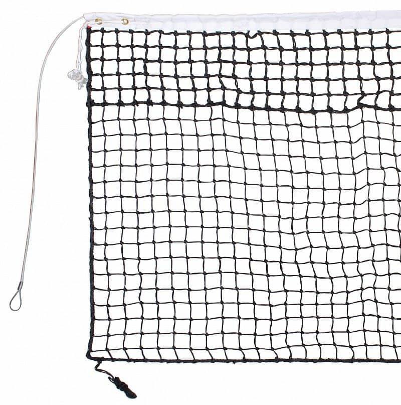 Tenisová síť - tenisová síť TN 30 D dvojitá, lanko barva: černá