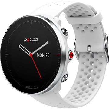 Bílé chytré dámské hodinky Vantage M, Polar