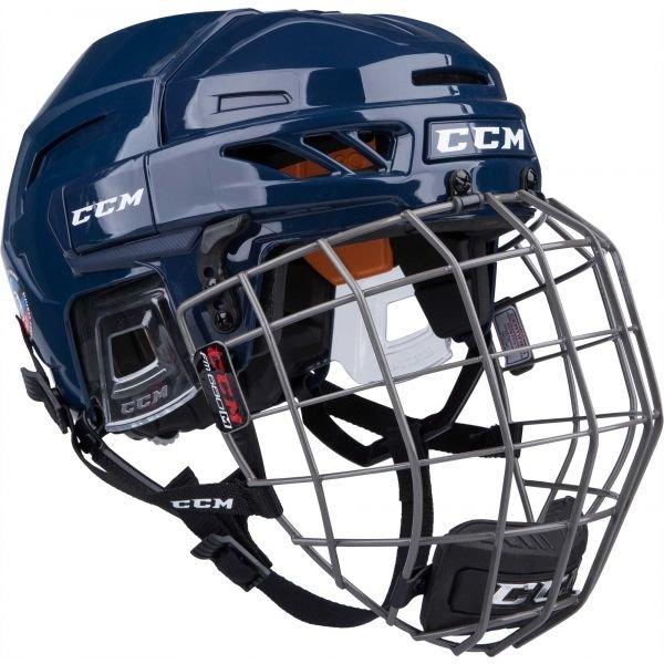 Modrá hokejová helma CCM