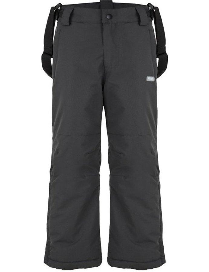 Šedé dívčí lyžařské kalhoty Loap - velikost 116