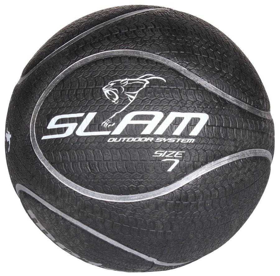 Černý basketbalový míč Streetball Slam, Meteor - velikost 7