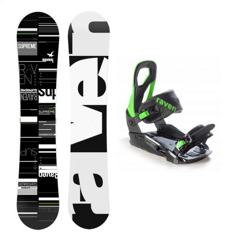 Snowboard s vázáním Raven
