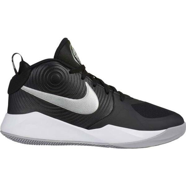 Černé dětské basketbalové boty Nike