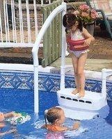Schůdky do bazénu - Vnitřní schodiště Komfort 2