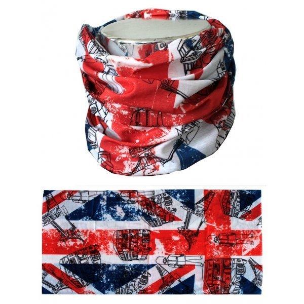 Šátek Scarf Union Jack London, MTHDR