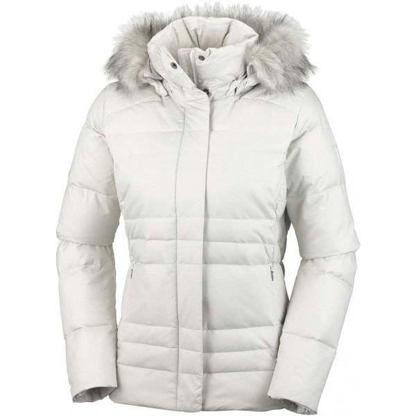Béžová zimní dámská bunda Columbia