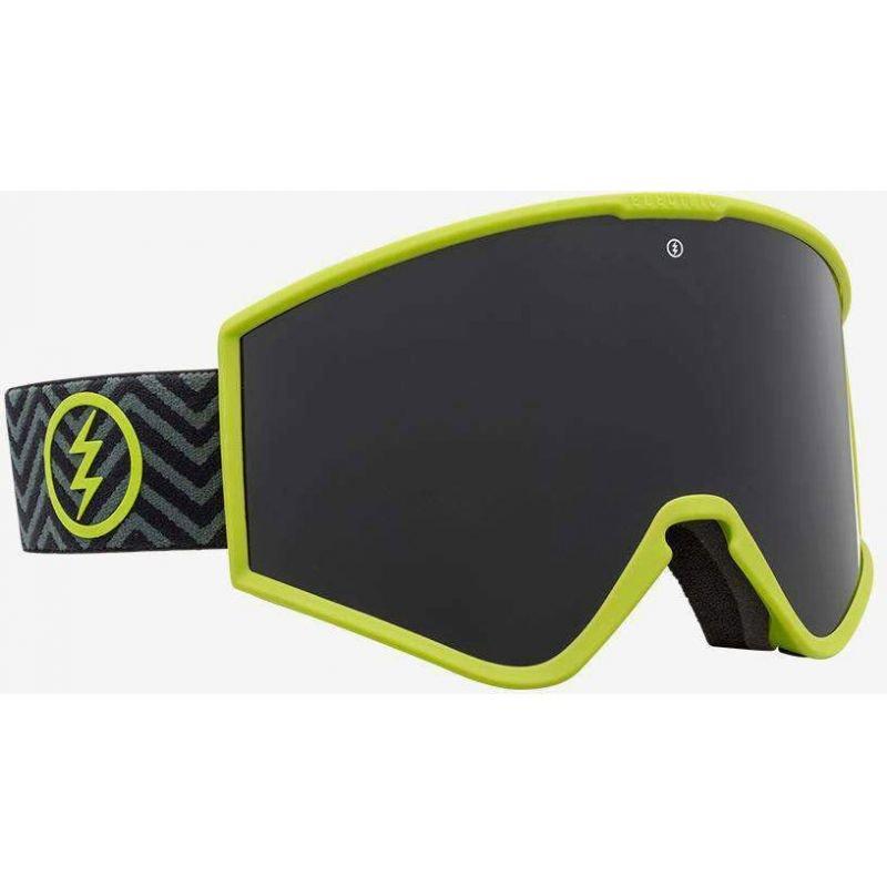 Zelené brýle na snowboard Electric