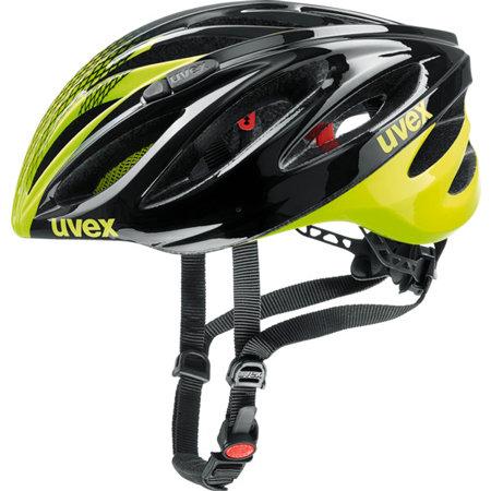 Černo-žlutá unisex cyklistická helma Uvex - velikost 52-56 cm