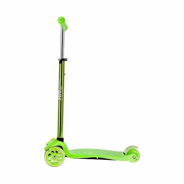 Zelená koloběžka HLB06, Nils Extreme - nosnost 80 kg
