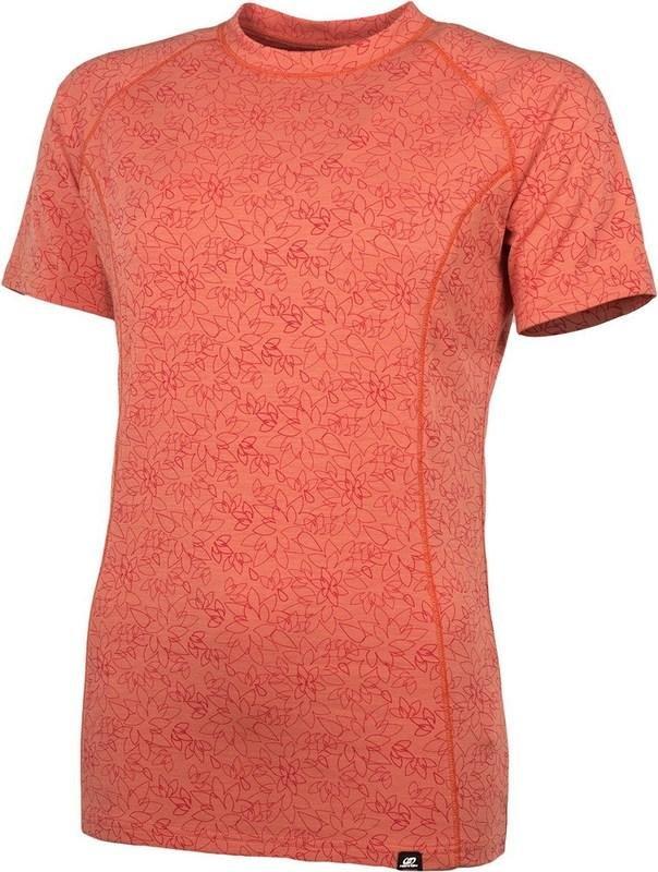 Oranžové dámské tričko s krátkým rukávem Hannah - velikost 36