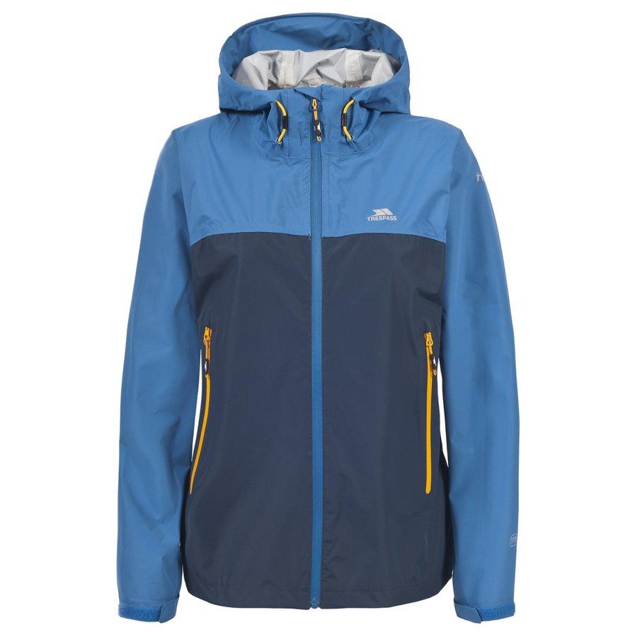 Modrá nepromokavá dámská bunda Trespass - velikost XS