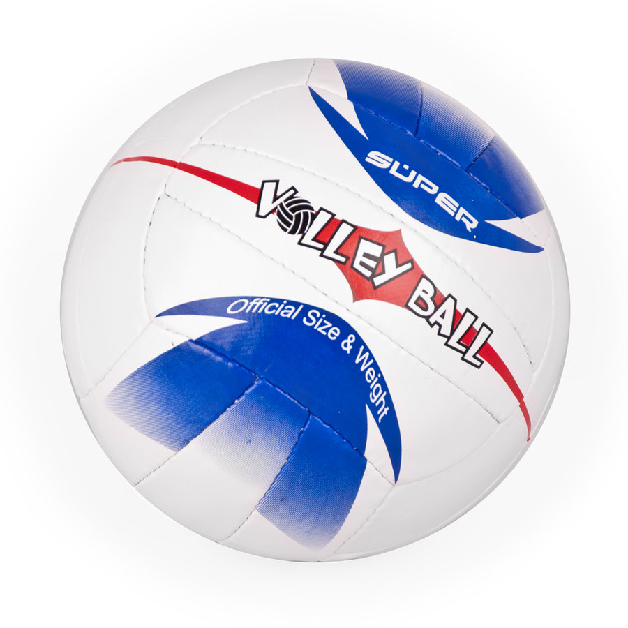 Bílo-modrý volejbalový míč Hawai, Spartan - velikost 5