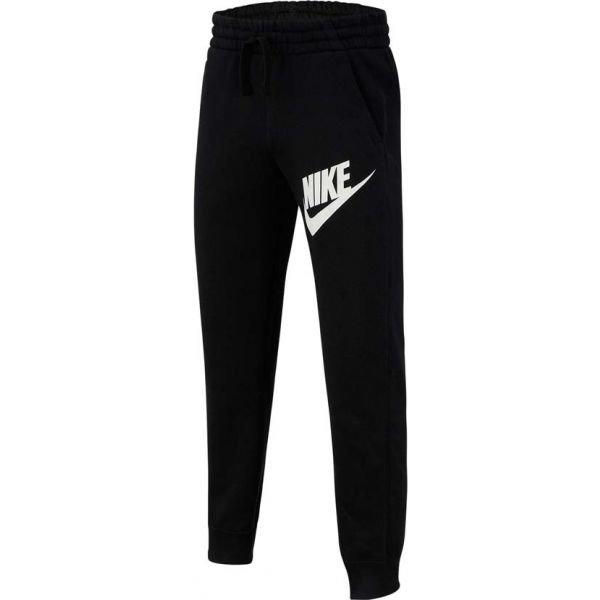 Černé chlapecké tepláky Nike - velikost S