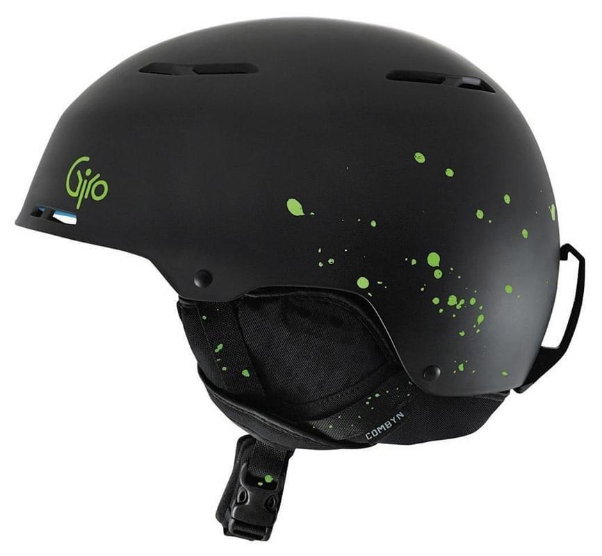 Černá pánská helma na snowboard Giro - velikost L