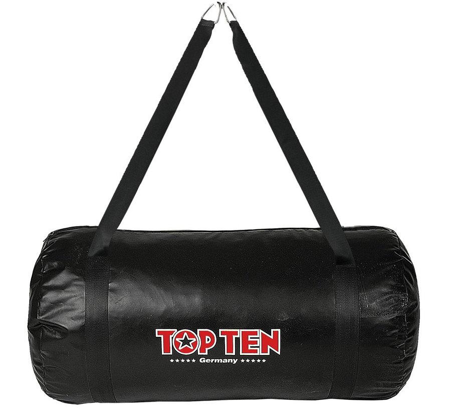 Černý boxovací pytel Top Ten - 18 kg