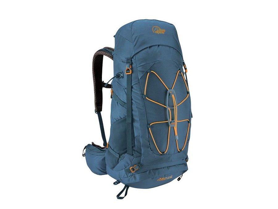 Modrý turistický batoh Lowe Alpine - objem 45 l