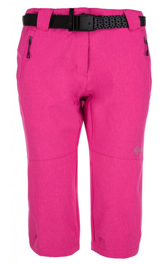 Růžové dámské kalhoty Kilpi