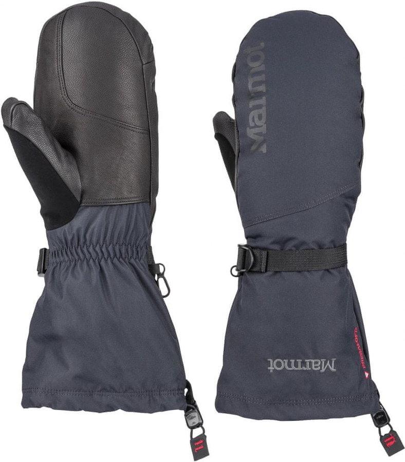 Černé pánské lyžařské rukavice Marmot