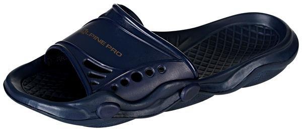 Modré pantofle Alpine Pro