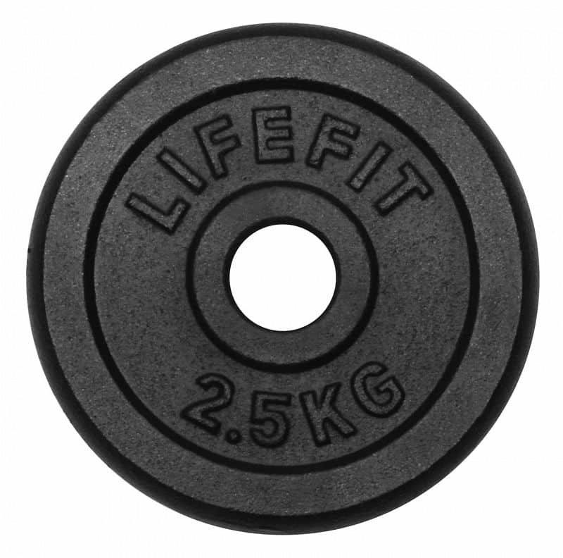 Kotouč na činky Lifefit - 2,5 kg