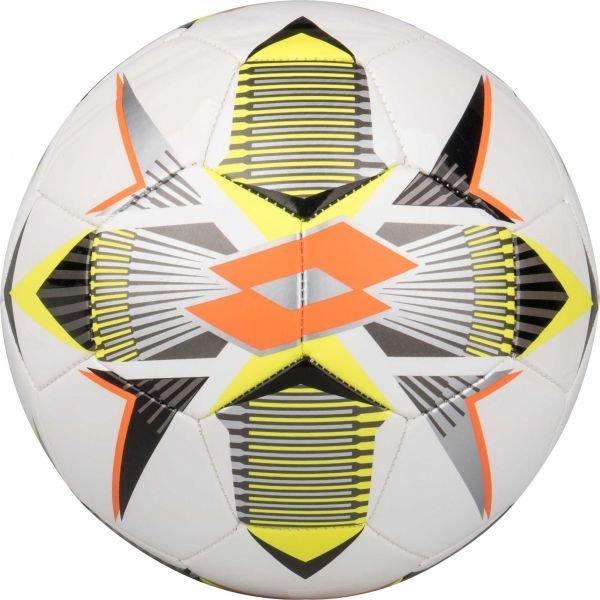 Bílo-žlutý fotbalový míč Lotto