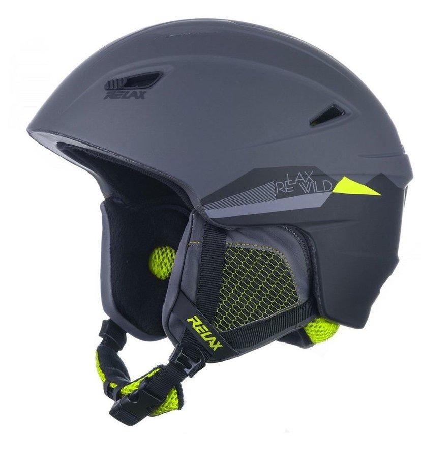 Šedá dámská lyžařská helma Relax