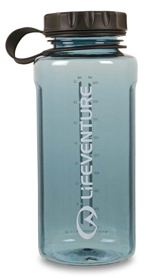 Modrá láhev na pití Tritan Flask, Lifeventure - objem 1 l