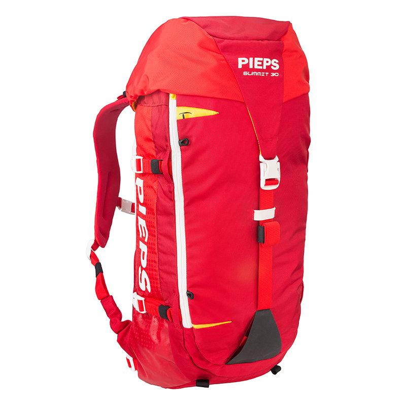Červený skialpový batoh Pieps - objem 30 l