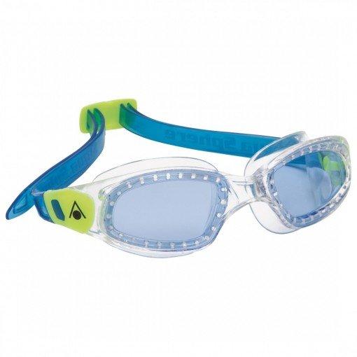 Modré dětské chlapecké nebo dívčí plavecké brýle KAMELEON JUNIOR, Aqua Sphere