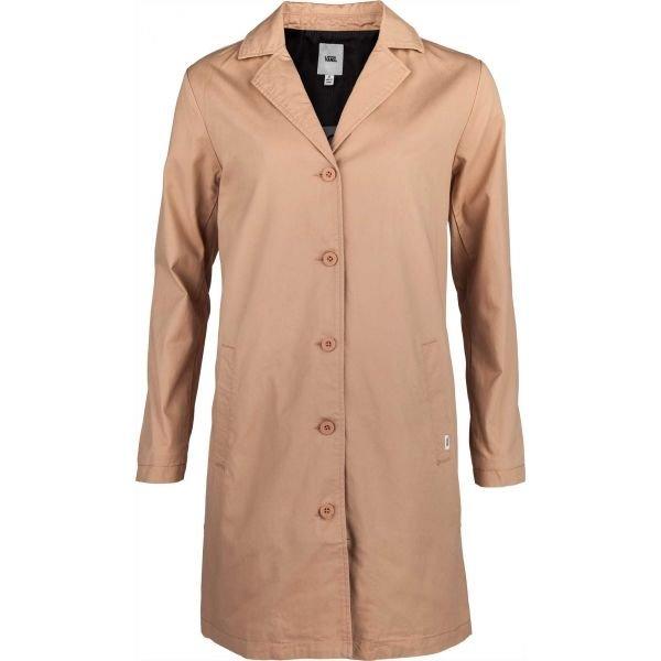 Hnědý dámský kabát Vans